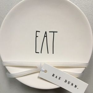 "Rae Dunn ""Eat"" Plates Small"